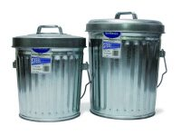 6 Gallon Galvanized Steel Trash Can