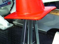 "28"" Flat Mounted Cone Holders"