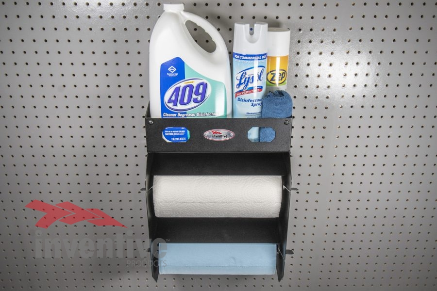 Two Roll Paper Towel Rack