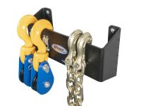 "12"" Wide Snatchblock & HD Chain Holders"